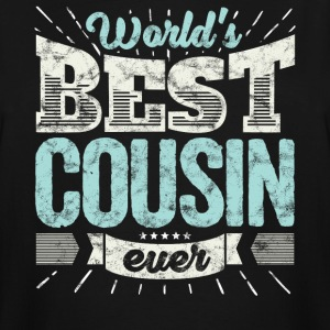 Cool family gift shirt: World's best cousin ever - Men's Tall T-Shirt