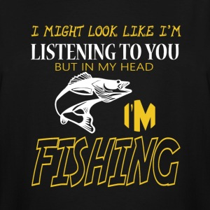 I'm Fishing T Shirt - Men's Tall T-Shirt