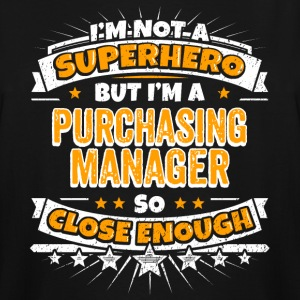 Not A Superhero But A Purchasing Manager - Men's Tall T-Shirt