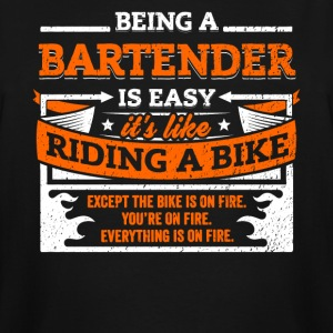 Bartender Shirt: Being A Bartender Is Easy - Men's Tall T-Shirt