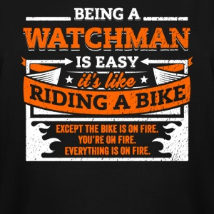 Watchman Shirt: Being A Watchman Is Easy - Men's Tall T-Shirt