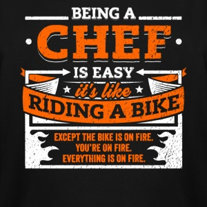 Chef Shirt: Being A Chef Is Easy - Men's Tall T-Shirt