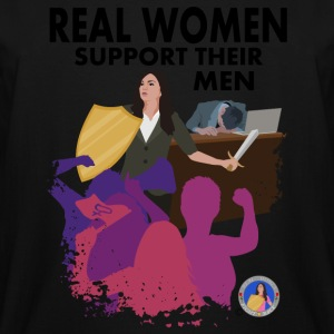 Real Women Fight Back: Business - Men's Tall T-Shirt