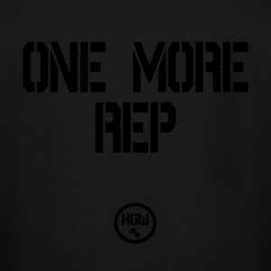 ONE MORE REP - Motivation - Men's Tall T-Shirt