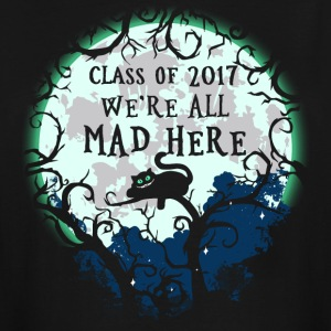 We're All Mad Here. Cheshire Cat. Alice in Wonderl - Men's Tall T-Shirt