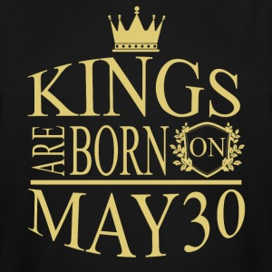 Kings are born on May 30 - Men's Tall T-Shirt