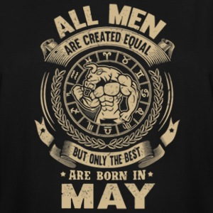 The best are born in May men shirt - Men's Tall T-Shirt