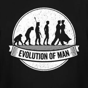 Funny Dancer Graphic Dancers Evolution Dancing Tee - Men's Tall T-Shirt