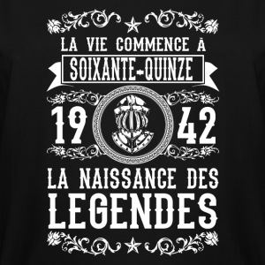 1942 - 75 ans - Légendes - 2017 - FR - Men's Tall T-Shirt
