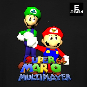 Super Mario 64 Multiplayer | Epicness & Arcani - Men's Tall T-Shirt