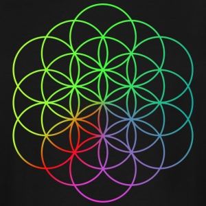 Coldplay Flower of Life - Men's Tall T-Shirt