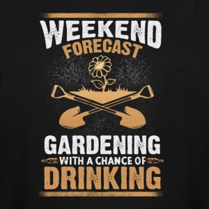 Gardening with a chance of drinking - Men's Tall T-Shirt