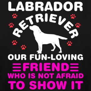 Fun-Loving Labrador Retriever - Men's Tall T-Shirt
