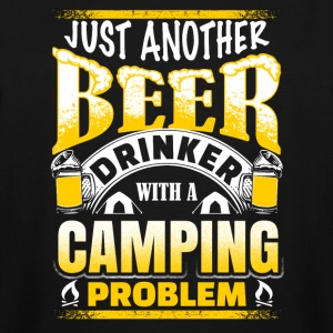 Just Another Beer Drinker - Camping - Men's Tall T-Shirt