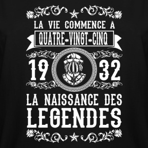 1932 - 85 ans - Légendes - 2017 - FR - Men's Tall T-Shirt