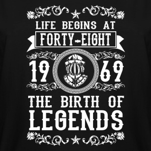 1969 - 48 years - Legends - 2017 - Men's Tall T-Shirt