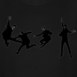 beatles jump - Men's Tall T-Shirt