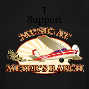 I Support - Music at Meyer's Ranch - Men's Tall T-Shirt