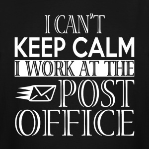 I Work At The Post Office T Shirt - Men's Tall T-Shirt