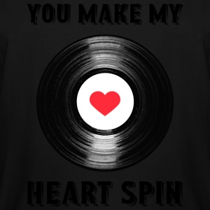 Heart Spin - Men's Tall T-Shirt