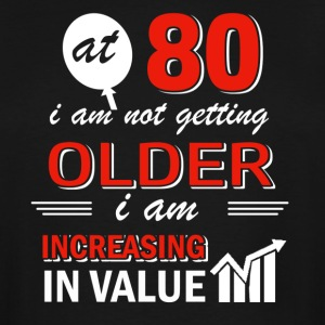 Funny 80 year old gifts - Men's Tall T-Shirt