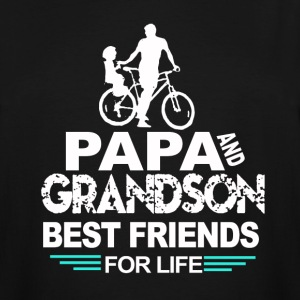Papa and grandson - Men's Tall T-Shirt