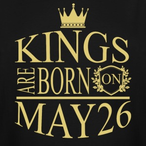 Kings are born on May 26 - Men's Tall T-Shirt