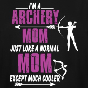 I'm A Archery Mom T Shirt - Men's Tall T-Shirt