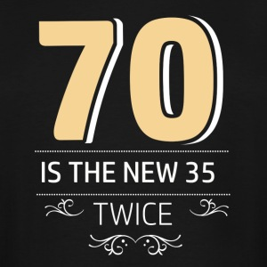 70 years and increasing in value - Men's Tall T-Shirt