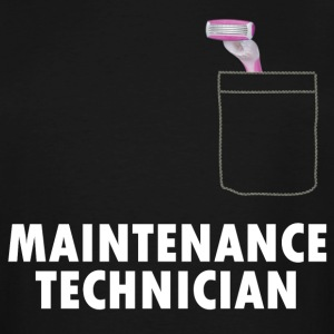 Pussy Maintenance Technician - Men's Tall T-Shirt
