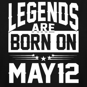 Legends are born on May 12 - Men's Tall T-Shirt