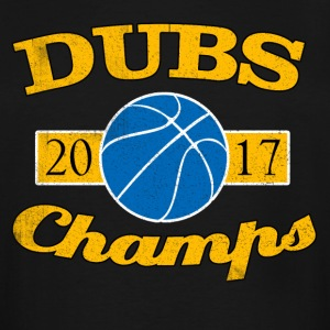 DUBS 2017 CHAMPIONS WARRIORS SHIRT - Men's Tall T-Shirt