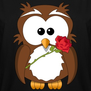 Owl Rose - Men's Tall T-Shirt