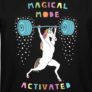 Magical Mode Unicorn - Men's Tall T-Shirt
