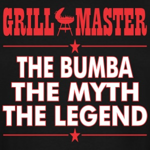 Grillmaster The Bumba The Myth The Legend BBQ - Men's Tall T-Shirt