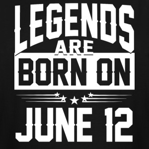 Legends are born on JUNE 12 - Men's Tall T-Shirt