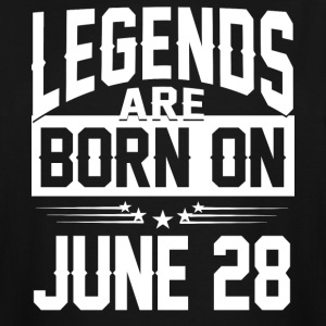 Legends are born on JUNE 28 - Men's Tall T-Shirt