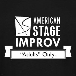 American Stage Improv Logo - Men's Tall T-Shirt