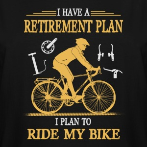 I Plan to Ride My Bike - Men's Tall T-Shirt