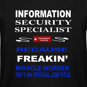 Information Security Specialist - Men's Tall T-Shirt