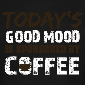 Today is good mood in sponsorend by coffee - Men's Tall T-Shirt