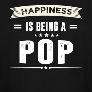 Happiness Is Being a POP - Men's Tall T-Shirt