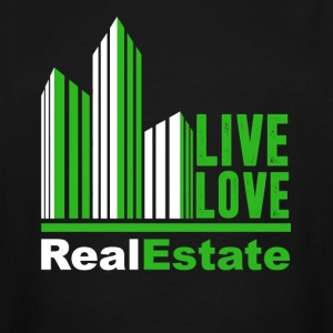 Live Love Real Estate T Shirts - Men's Tall T-Shirt