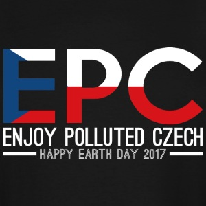 EPC Enjoy Polluted Czech Happy Earth Day 2017 - Men's Tall T-Shirt