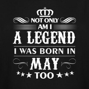 May month Legends tshirts - Men's Tall T-Shirt