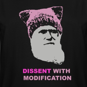 Dissent with modification - dark - Men's Tall T-Shirt