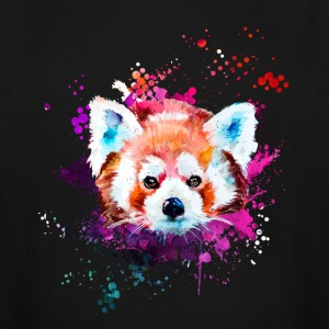 Red Panda Watercolor Tshirt - Men's Tall T-Shirt