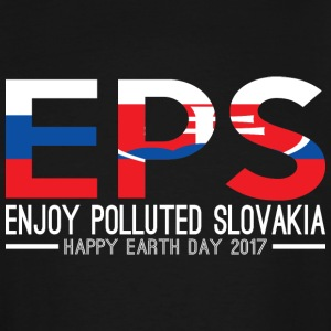 EPS Enjoy Polluted Slovakia Happy Earth Day 2017 - Men's Tall T-Shirt
