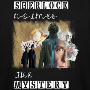 Sherlock Mystery - Men's Tall T-Shirt