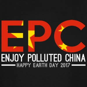 EPC Enjoy Polluted China Happy Earth Day 2017 - Men's Tall T-Shirt